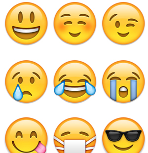 can emoticons be used to help business brand management inspired